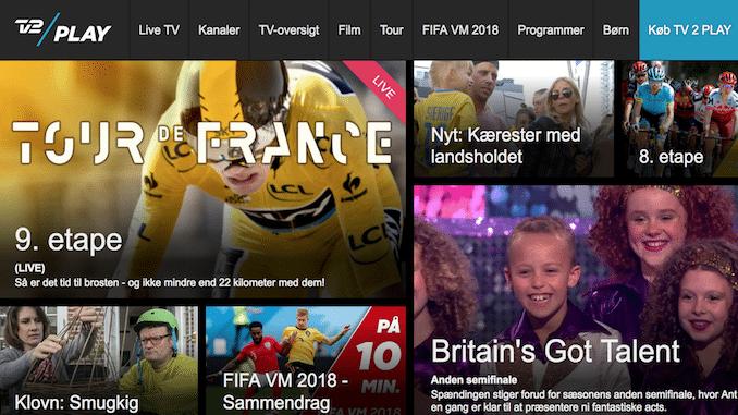 Se TV2 Play i udlandet