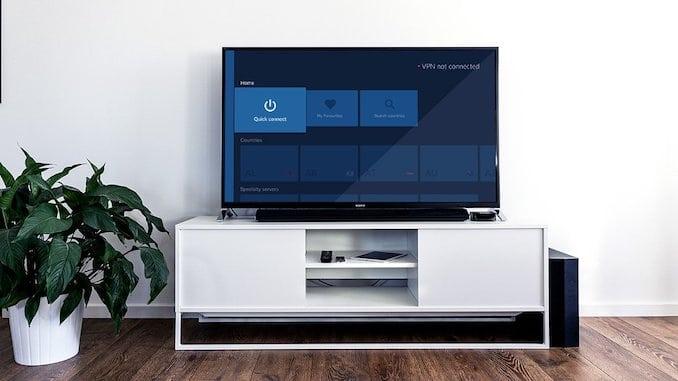 VPN på et Android TV